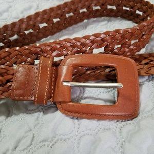 Calvin Klein Jeans Accessories - Calvin Klein Jeans Genuine Leather Belt Braided L